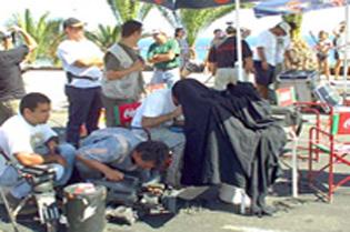 servicios de producción para cine video y televisión en las islas Canarias