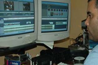 sala de postproducción digital no lineal